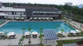 Minh Thy Furniture cung cấp giường nằm hồ bơi ,dù che nắng tại celadon city Tân Phú