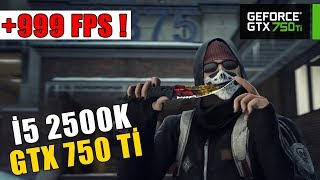 CSGO | Benchmark Test | i5 2500K - GTX 750 Tİ | ULTRA FPS !