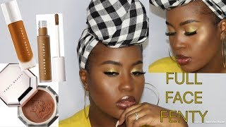 NEW fenty pro filter concealer  FULL FACE FENTY!!!