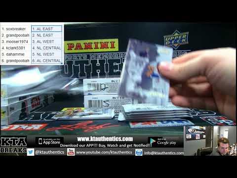 KTAuthentics - 2017 topps gold label baseball 1 hobby box break - ran div war #2
