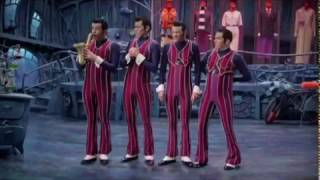 "We Are Number One but ""one"" is replaced with ""mine"""