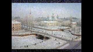 Saint Petersbourg Sous La Neige