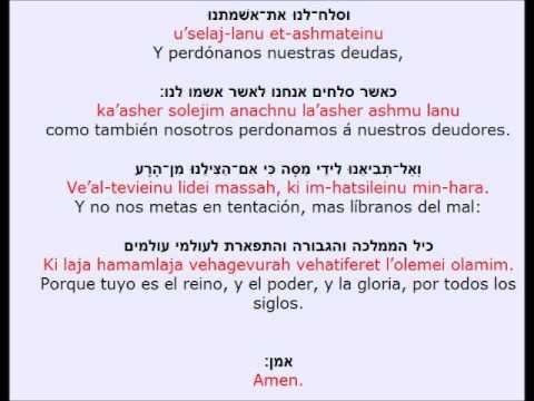 Letra hebrea traductor