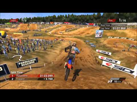 Mxgp - The Official Motocross Videogame - Agueda Portugal Gameplay [hd] video