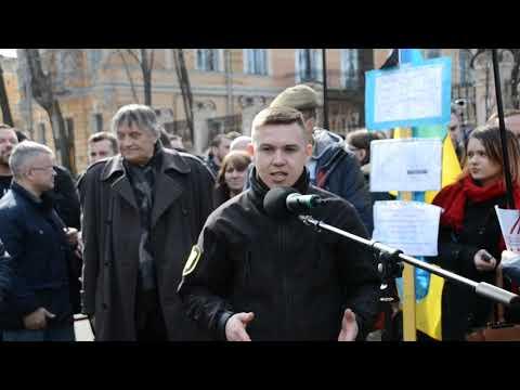 Під наступну люстрацію має піти весь режим Порошенка, ‒ Юрій Ботнар на Марші сили нації