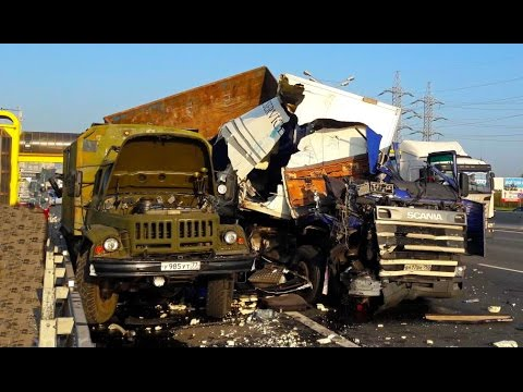 Best truck crashes, truck accident compilation 2016 Part 10