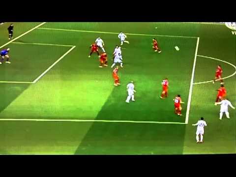 Fantastic Goal For Karim Benzema   Liverpool 0-2 Real Madrid   Champions League 2014-15