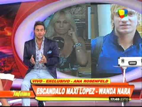 Ana Rosenfeld: Hace seis meses que Maxi López no paga la cuota alimentaria