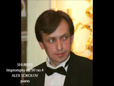 Шуберт Франц - Четыре экспромта. Соч. 90 для фортепиано. Экспромт No1