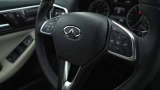 2017 Infiniti QX30 AWD Interior Design Trailer | AutoMotoTV