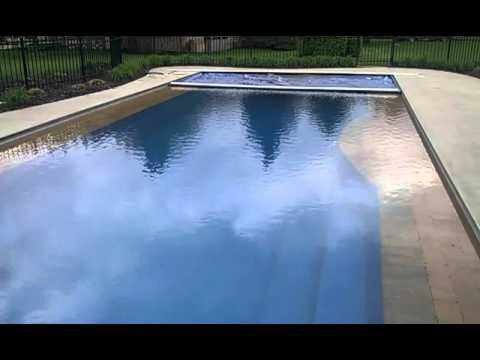 Deck On Deck Automatic Pool Cover Youtube