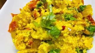 Paneer Bhurji - High Protein Low Calorie Recipe for Weight Loss | Sidedish for Roti/Bread/Dosa/Chila