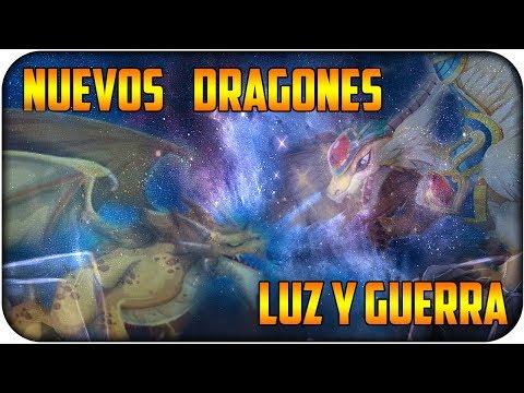 Como sacar a los nuevos Dragones de Luz y Guerra 2014 Dragon city 2.6 Combinaciones