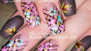 Pastel Daisy Nails! | DIY Spring Flower Nail Art Design Tutorial