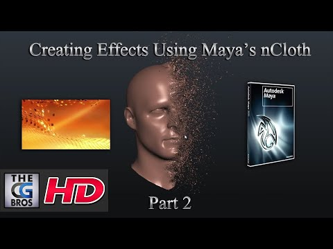 Useful Effects Using Maya and nCloth: Part 2 by TheCGBros