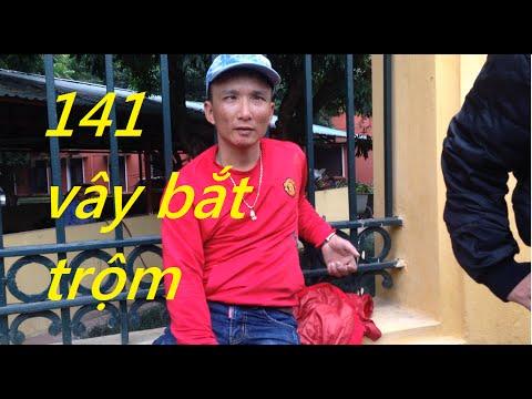 Cảnh sát 141 vây bắt kẻ trộm cắp trên đường Hoàng Quốc Việt