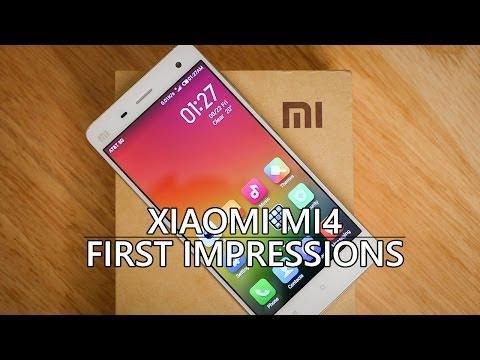 Xiaomi MI4 First Impressions