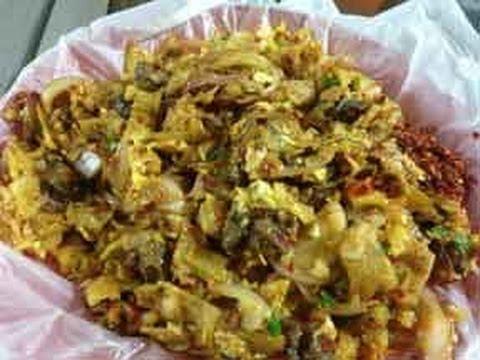 Kotthu Roti - Street Food from Sri Lanka