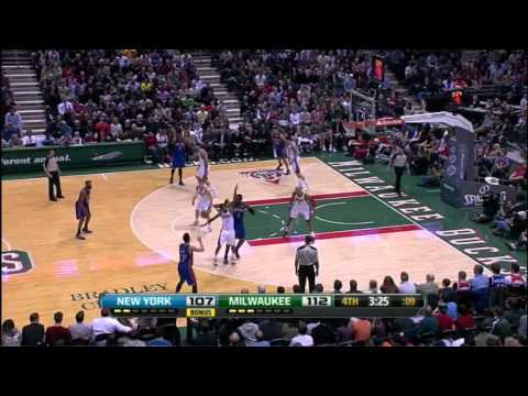 Jeremy Lin Highlights - New York Knicks vs Milwaukee Bucks