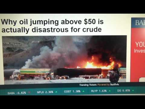 oil prices are going to be over $50, part 2, 2016,05/26;20160526195642
