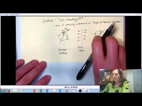 LECTURE 7 (PART B): Solar Radiation - Earth and Sun and Time