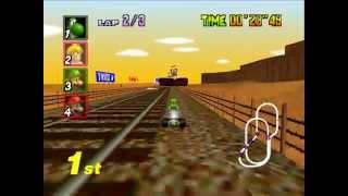 "[TAS] Mario Kart 64 - Mushroom Cup - 1P, GP, 150cc in 3'30""38, twitch.tv/weatherton"