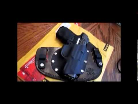 REDS HOLSTERS  Ruger Sr9C - Leather/Kydex - IWB & OWB HYBRID HOLSTER!!!
