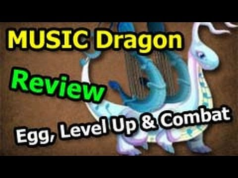 MUSIC DRAGON Dragon City Egg Level Up Fast and Combat Attacks Review