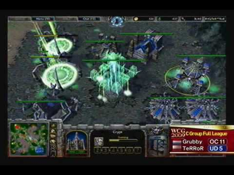 2009 WCG Grand Final Second day: WarCraft III match: Grubby vs TeRRoR