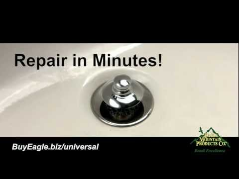 Bathroom Exhaust  Replacement on Bathtub Stopper   Drain Installation   Universal Nufit