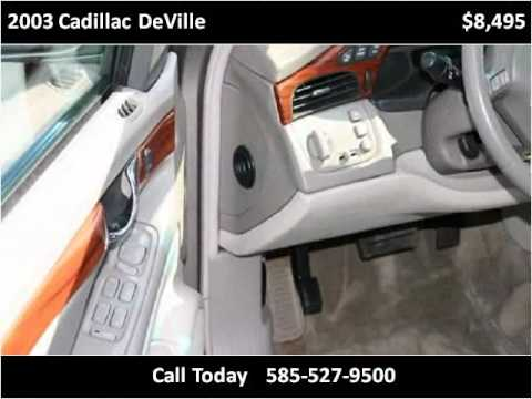 2003 Cadillac DeVille Used Cars Rochester NY