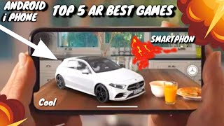 Top 5 AR GAMES FOR ANDROID IPHONE DEVICES DOWNLOAD NOW