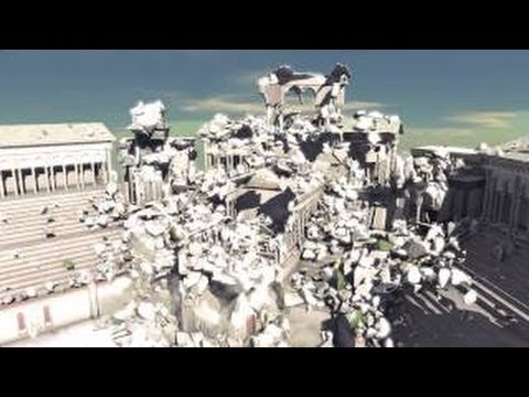 Nvidia - Massive Destruction in Real-Time Tech Demo