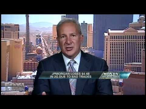 Peter Schiff 2012 - JP Morgan over $5.8 billion in trade losses