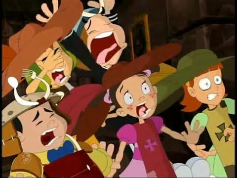 El Chavo Animado - ''2 Mosqueteras y El Chavo''