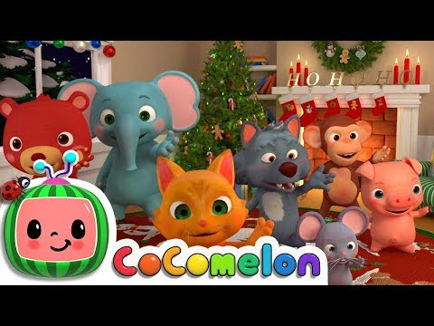 We Wish You a Merry Christmas | ABCkidTV Nursery Rhymes & Kids Songs