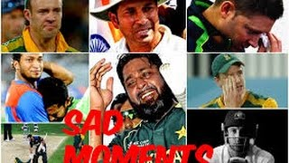 5 Emotionally Sad Moments in Cricket History Ever HD