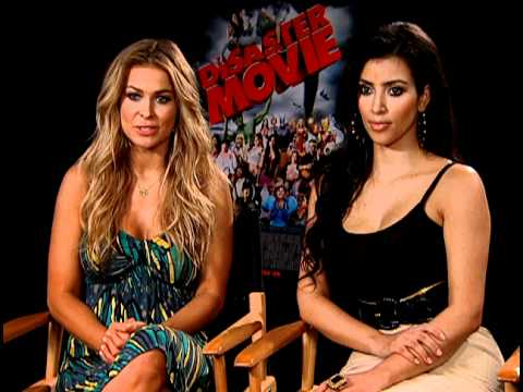 Disaster Movie - Exclusive: Carmen Electra and Kim Kardashian Interview