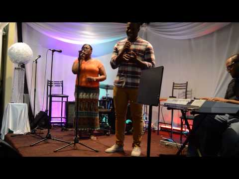 The Harpers Ministering @ The Gospel Cafe 2015