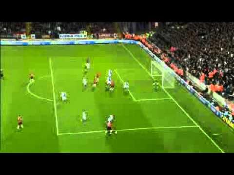 Antonio Valencia mejor gol del año 2012 en el Manchester United