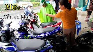 Vào Tham quan Giá Tổng Kho hơn 200 Xe máy củ của cô chủ 15 năm bán xe ĐIỂM NÓNG Quận 12 | Ngố Nguyễn