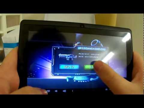 Cheap 7inch Android Tablet Review (B-Pad 717)