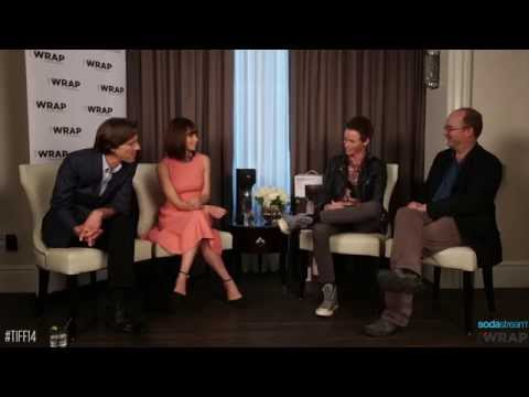 Chris Evans, Keira Knightley, Kevin Smith & Justin Long Toasting With SodaStream at TIFF14