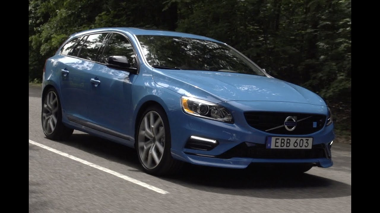 Volvo V60 Polestar driven - YouTube