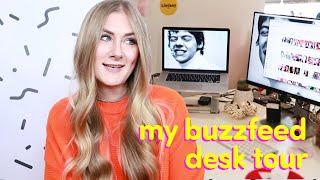 My BuzzFeed Desk Tour