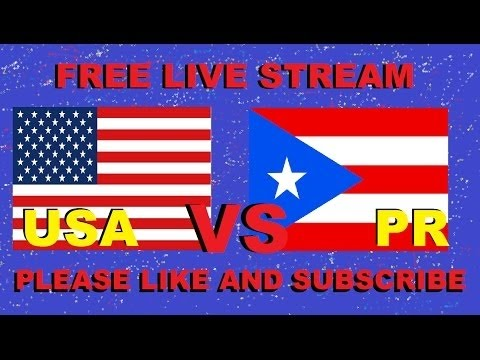 WBC 2017: USA VS PUERTO RICO FINAL GAME