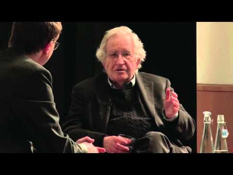 Noam Chomsky in conversation with Jonathan Freedland