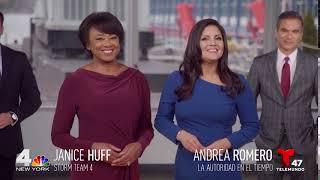 "News 4 New York: ""NBC 4 & T47 Weather Team"" Promo :10 sec"