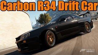 Forza Horizon 2 | Nissan Skyline GT-R R34 | RWD Swap | Drift Build