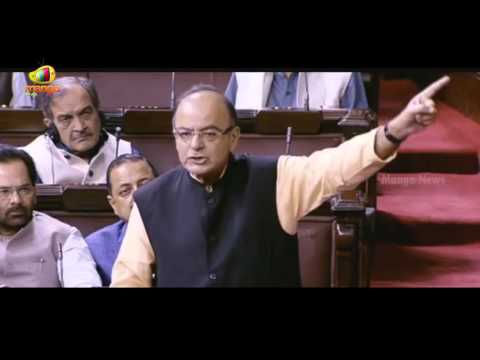 Arun Jaitley Full Speech In Rajya Sabha | Attacks Opposition Over JNU Incident | Mango News